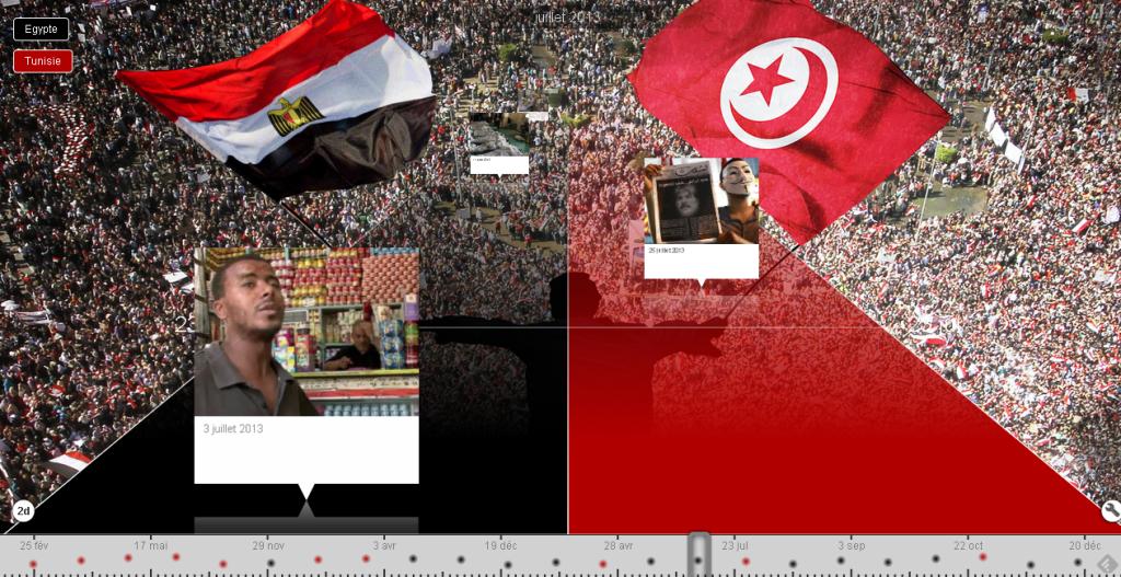 Chronologie des révolutions égyptienne et tunisienne