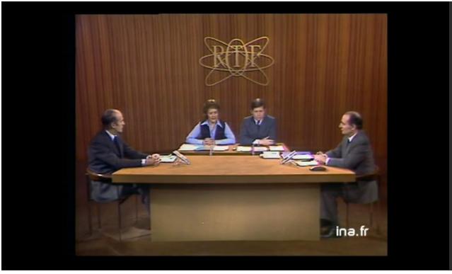 Débat Valéry Giscard d Estaing   François Mitterrand   Vidéo Ina.fr