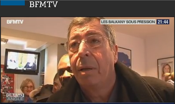 Grand Angle  Patrick Balkany disjoncte devant la caméra de BFMTV